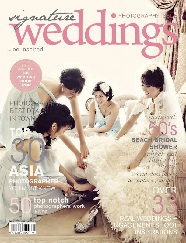 SW January 2012 Cover 8005 Asia Top 30 Wedding Photographer