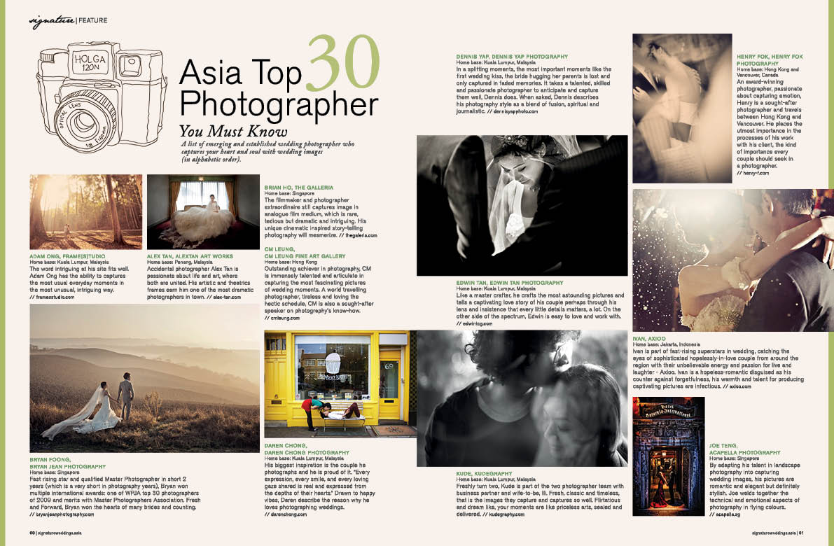 SW top30 photographer4 Asia Top 30 Wedding Photographer