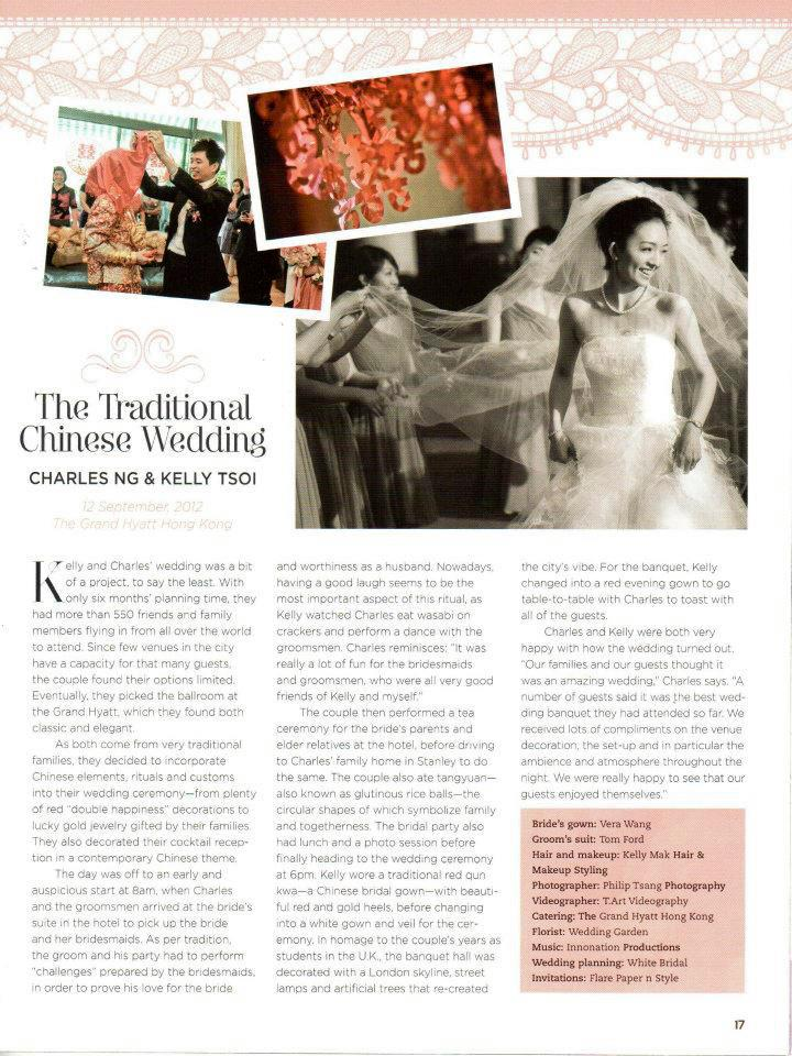 302211 406020962800062 194863274 n Wedding of Kelly & Charles featured in SCMP & HK Magazine