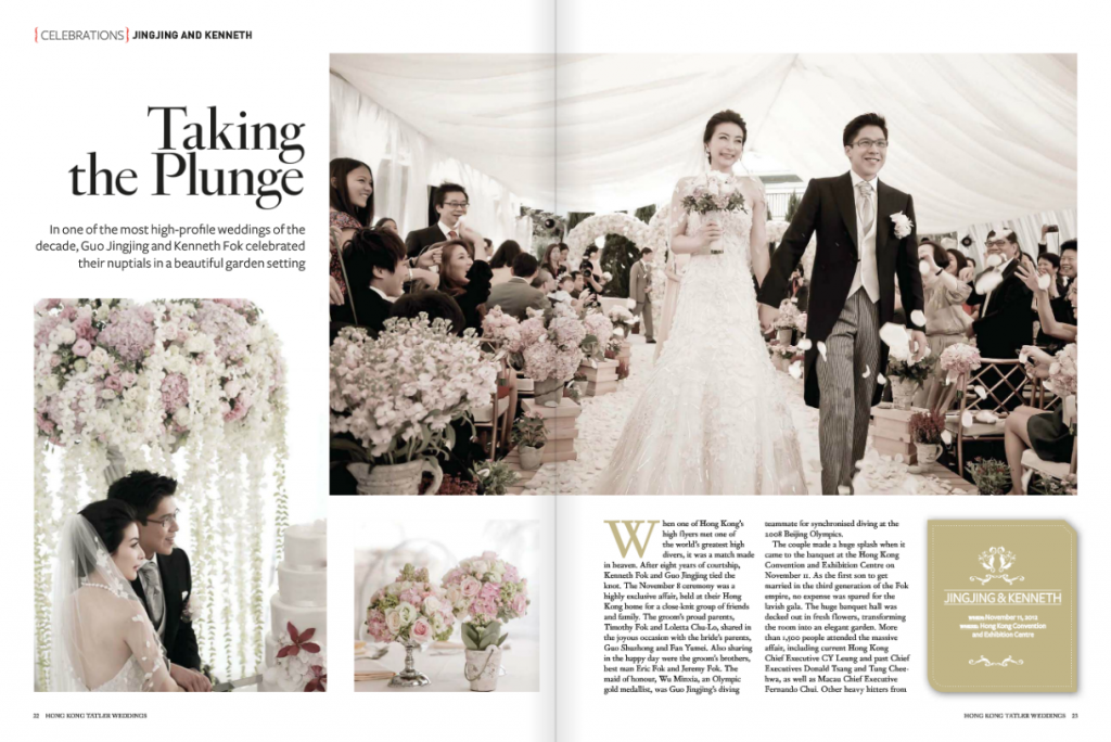 Screen Shot 2013 06 19 at 4.31.37 PM 1024x684 One of the most high profile weddings in decade   Tatler Weddings Summer 2013
