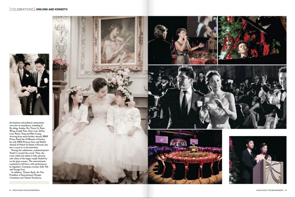 Screen Shot 2013 06 19 at 4.31.51 PM 1024x687 One of the most high profile weddings in decade   Tatler Weddings Summer 2013